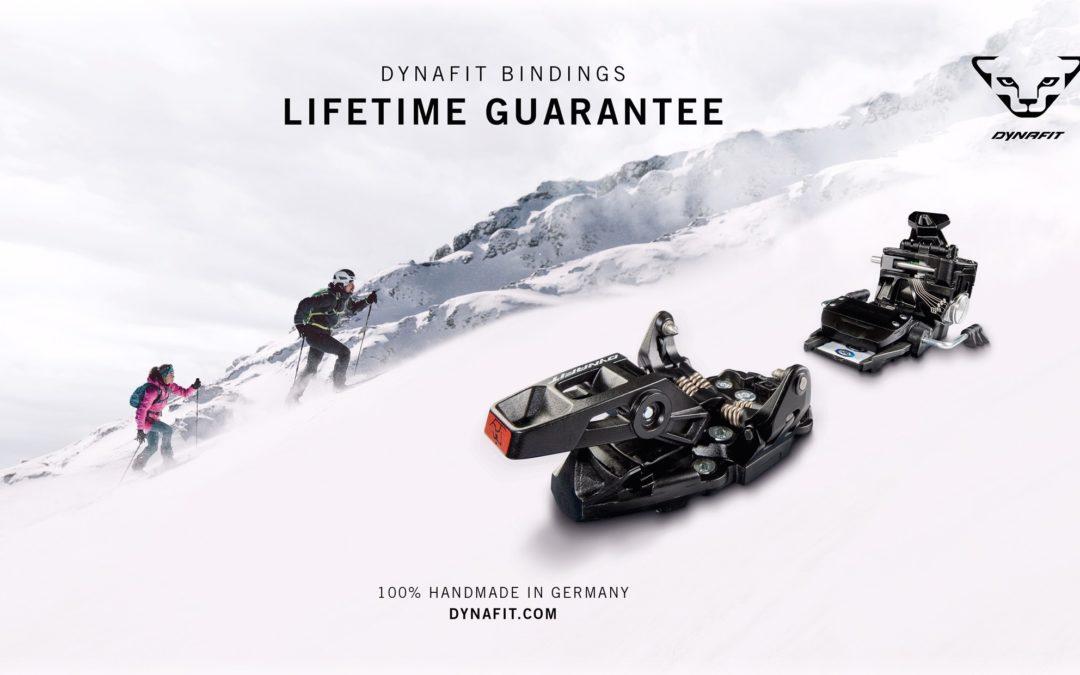 DYNAFIT Offers a Lifetime Warranty on Its Tech Bindings