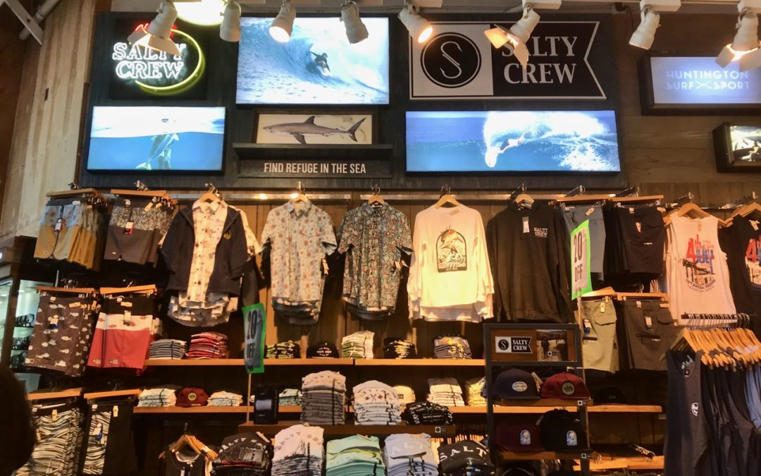 Salty Crew Landing More Space in High-Profile Retailers