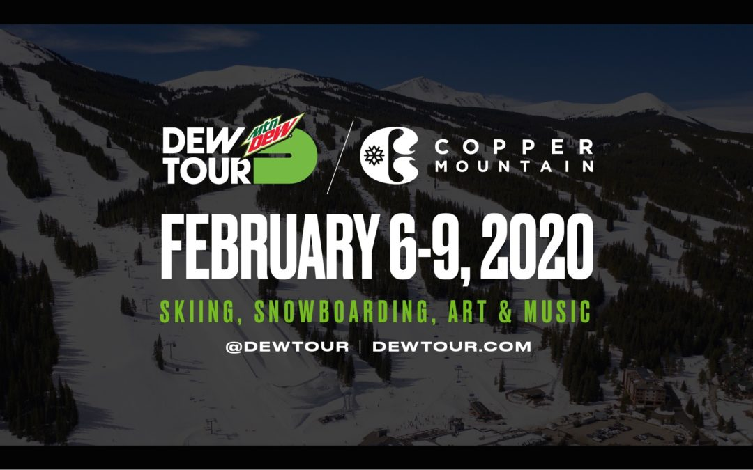 Schedule Announced for Winter Dew Tour in Colorado