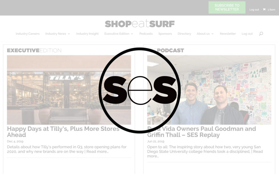 Shop Eat Surf Acquired by Surf Expo